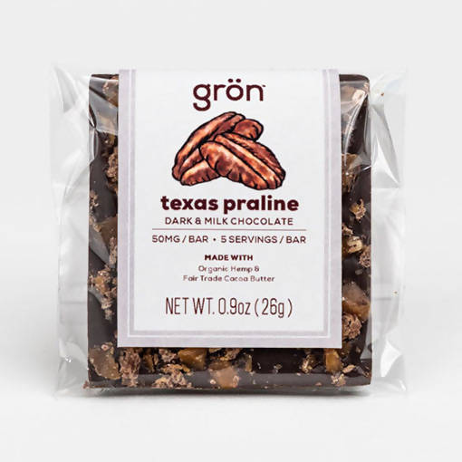 TEXAS PRALINE DARK AND MILK CHOCOLATE