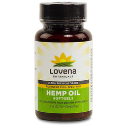 Lovena Botanicals CBD Softgels