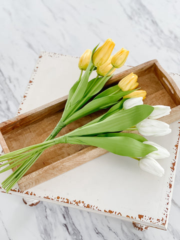 "14.5"" Faux Tulip Bundle"