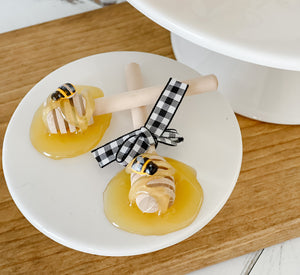 Faux Honey Dipper- Set Of Two