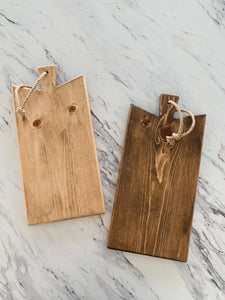 Cottage Style Cutting Board