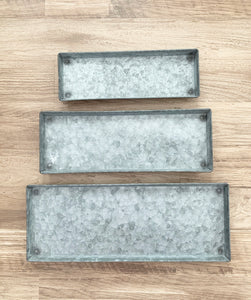 Decorative Zinc Tray