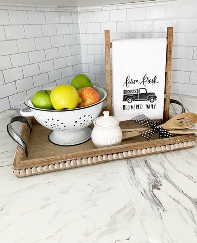 Fresh Produce Tea Towel