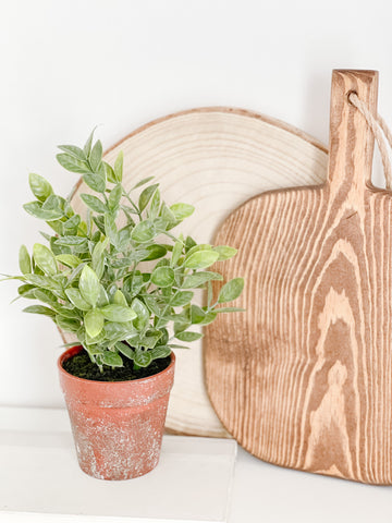 "10.5"" Faux Potted Plant"