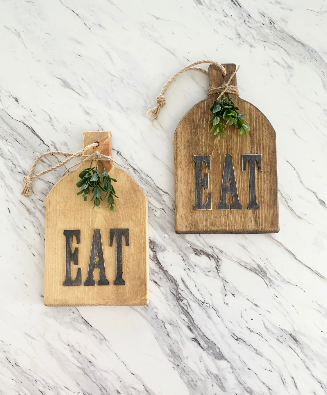 """Eat"" Vintage Style Cutting Board"