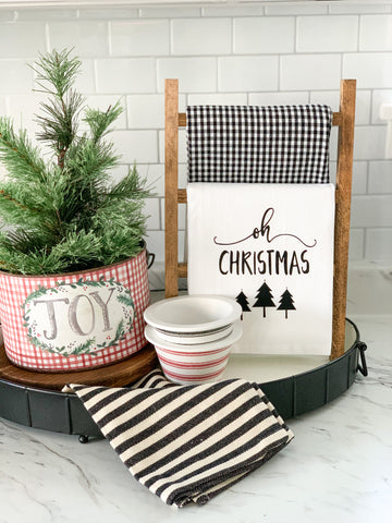 Oh Christmas Tree Tea Towel