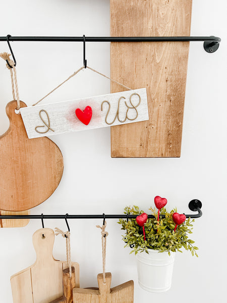 Hanging Valentine's Day Signs