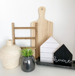 Home Shiplap, Wooden House Set
