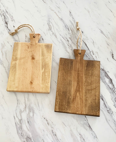 Farmhouse Style Cutting Boards