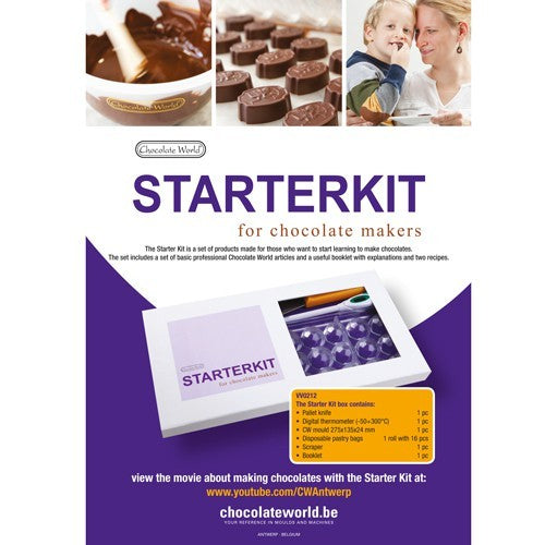 Starterkit for Chocolate (Kit para principiantes)