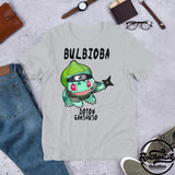 T-shirt Gris Bulbioba (Pokemon x Naruto)