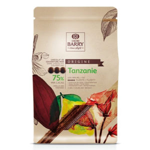 Callebaut Tanzanie 75% Acid & Fruity Chocolate - 5.5lb