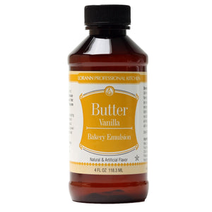 LorAnn Butter Vanilla Emulsion 4oz - Bake Supply Plus