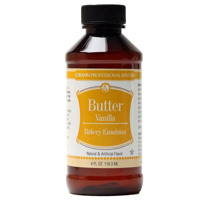 LorAnn Butter Vanilla Emulsion 4oz
