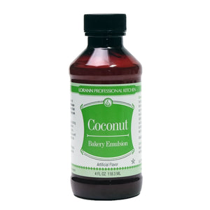LorAnn Coconut Emulsion 4oz LorAnn Oils Emulsion - Bake Supply Plus