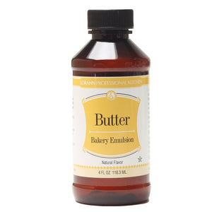 LorAnn Butter Natural Emulsion 4oz LorAnn Oils Emulsion - Bake Supply Plus