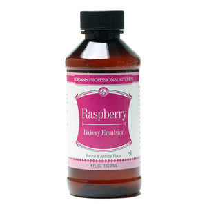LorAnn Raspberry Emulsion 4oz LorAnn Oils Emulsion - Bake Supply Plus