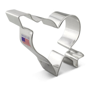 Heart with Arrow Cookie Cutter Ann Clark Cookie Cutter - Bake Supply Plus