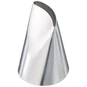 Wilton Petal Decorating Cake Tip #123 Wilton Piping Tip - Bake Supply Plus