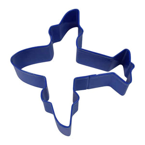 R&M Cookie Cutter Airplane Navy 4""