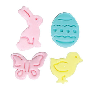 Easter Plunger Fondant & Pie Cutter - Set of 4 NY Cake Fondant Cutter - Bake Supply Plus