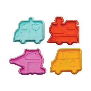Traffic Transport Fondant & Pie Cutter Set NY Cake Fondant Cutter - Bake Supply Plus