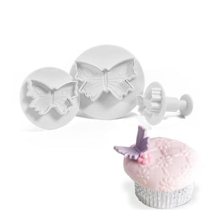 Butterfly Plunger Cutter Small NY Cake Fondant Cutter - Bake Supply Plus