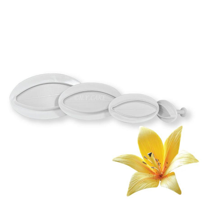 Rounded Lilies Plunger Cutter Set