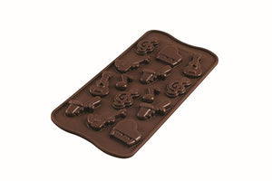 Silikomart Melody Chocolate Silicone Mold Silikomart Silicone Chocolate Mold - Bake Supply Plus