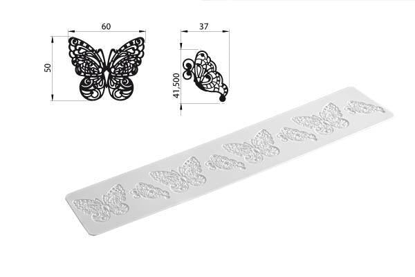 Silikomart Butterfly SIlicone Mat/Mold