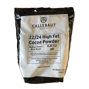 Callebaut 22/24 Cocoa Powder processed with Alkali Powder Callebaut Cocoa Powder - Bake Supply Plus