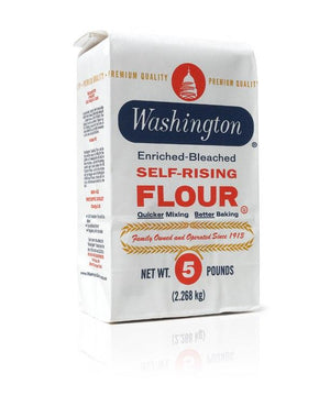 Washington Enriched Self Rising Flour — 2, 5, 25 lb Washington Flour - Bake Supply Plus