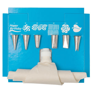 8 Pc Decorating Set Ateco Piping Tool - Bake Supply Plus