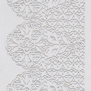 Impression Mat Lace Scallop 4ct. CK Products Texture Mat - Bake Supply Plus