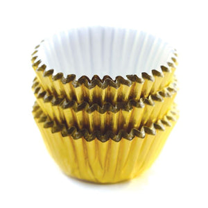 Norpro Mini Gold Foil Petit Baking Cups/Liners 60ct