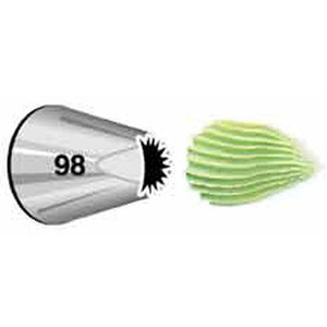 Wilton Specialty Decorating Tip #98 Wilton Piping Tip - Bake Supply Plus