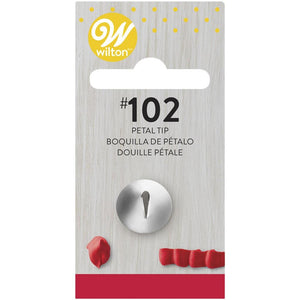 Wilton Petal Decorating Tip #102 Wilton Piping Tip - Bake Supply Plus