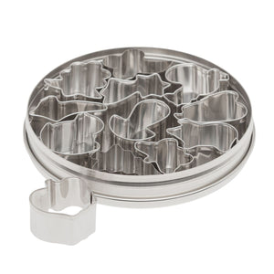 12pc. Shapes Cutter Set Ateco Cutter - Bake Supply Plus