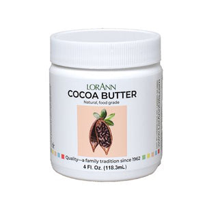 Cocoa Butter 4oz LorAnn Oils Additive - Bake Supply Plus