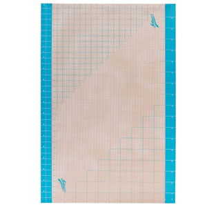 "Grid Fondant Mat 24"" x 36"" Ateco Work Mat - Bake Supply Plus"