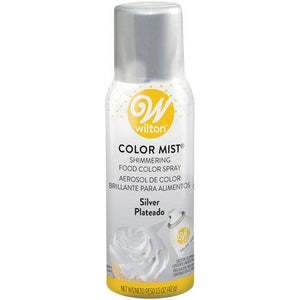 Wilton Color Mist Shimmering Food Color Spray - Gold, Silver, & Pearl Wilton Color Spray Can - Bake Supply Plus