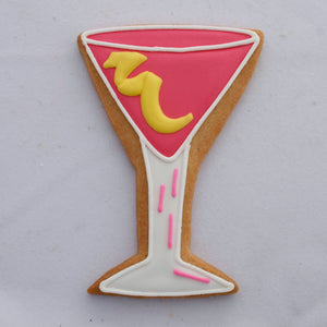 Martini Glass Cookie Cutter Ann Clark Cookie Cutter - Bake Supply Plus