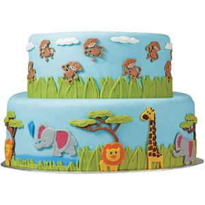 Wilton Fondant Mold Jungle Animals