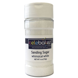 CK Sanding Sugar White 4oz/16oz