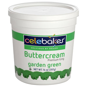 CK Buttercream Garden Green 14oz CK Products Icing - Bake Supply Plus
