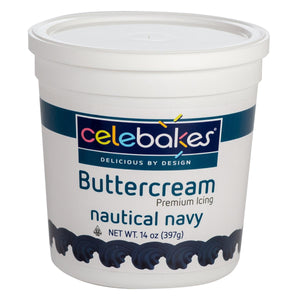 CK Buttercream Nautical Navy 14oz CK Products Icing - Bake Supply Plus
