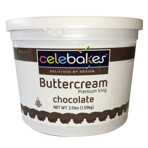 Chocolate Buttercream Icing 3.5 lb CK Products Buttercream - Bake Supply Plus