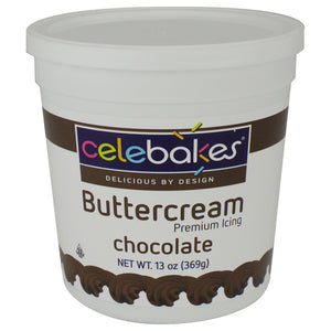 CK Chocolate Buttercream Icing 13oz CK Products Icing - Bake Supply Plus