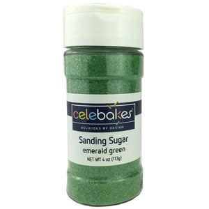 CK Sanding Sugar Emerald Green 4oz