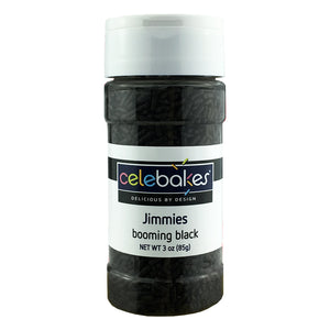 CK Jimmies Black — 3.2 oz/16 oz CK Products Sprinkles - Bake Supply Plus